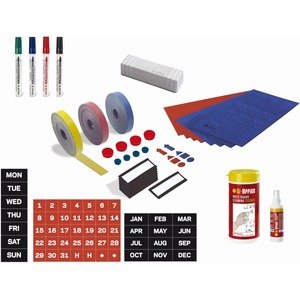 MasterVision Professional Magnetic Board Accessory Kit - 1 Each