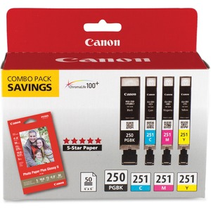 Canon 4x6 GP502 50 glossy photo paper MG7120 MX722 MX922 iP7220 iP8720 iX6820