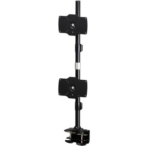 A Clamp based mount that supports up to two 32 LED/LCD monitors, each weighing u