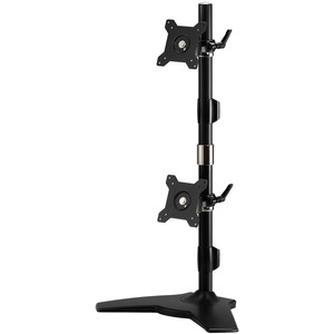 A Stand based mount that supports up to two 24 LED/LCD monitors, each weighing u