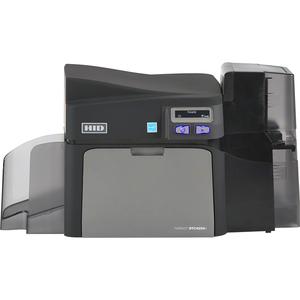 Fargo DTC4250e Single Sided Desktop Dye Sublimation/Thermal Transfer Printer - Color - Car