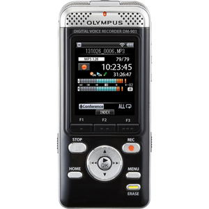 Olympus DM-901 4GB Internal Memory MP3 / WMA / PCM WiFi Links to Smartphone Voice Recorder