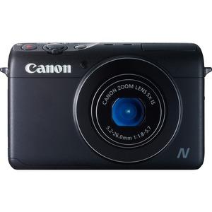 Canon PowerShot N100 12.1 Megapixel Compact Camera - Black - 1/1.7inCMOS Sensor - 3inTou