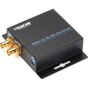 Black Box HDMI to 3G-SDI/HD-SDI Converter - Functions: Video Conversion - 1920 x 1080 - NT