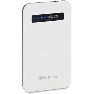 Verbatim Ultra-Slim Power Pack, 4200mAh | White