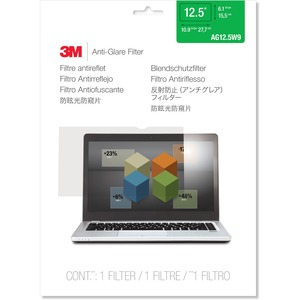 """3M AG12.5W9 Anti-Glare Filter for Widescreen Laptop 12.5"""""""