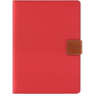 ALURATEK UNIVERSAL CASE AND STAND RED F/ ALL 8IN TABLET