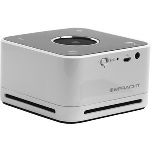 Spracht The Conference Mate - White - Bluetooth - Near Field Communication  - Microphone, Digital signal processing (DSP), Passive Radiator, LED