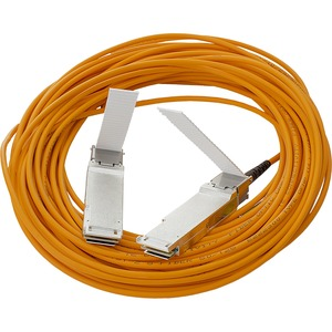 HPE BladeSystem c-Class 40G QSFP+ to QSFP+ 15m Active Optical Cable - 49.21 ft Fiber Optic