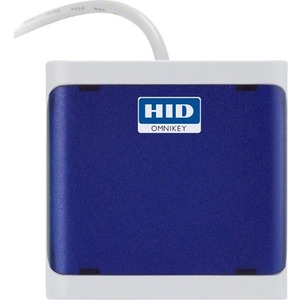 HID GLOBAL, OMNIKEY 5021, DARK BLUE, CONTACTLESS 13.56MHZ READER, USB, CLOSED HOUSING reader