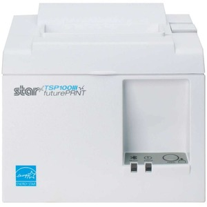 Star Micronics TSP100 Eco Thermal Receipt Printer Cutter USB White TSP143IIU Wht US INT PS