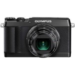 "Olympus Stylus SH-1 16MP 1/2.3"" Bsi CMOS Sensor 25-600MM Digital Camera - Black"