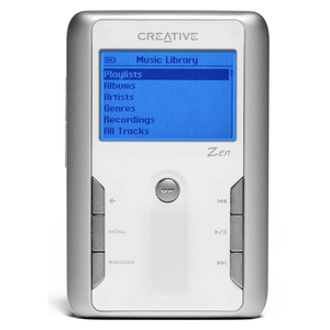 creative zen touch 20gb mp3 player product overview what hi fi. Black Bedroom Furniture Sets. Home Design Ideas