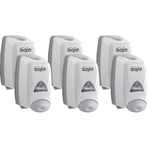 LOT 3 Packs Rubbermaid FG-450017 Commercial Wall Mount Soap Foam Dispenser White Ochrona i obsługa obiektów