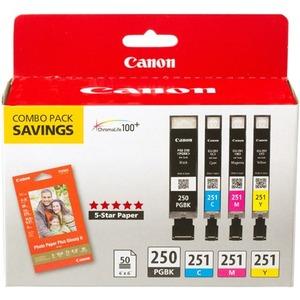 CANON PGI-250 BLK/CLI-251 CMY INK