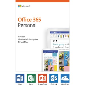 Microsoft Office 365 Personal 32/64 English Subscription 1YR - Download