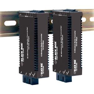 FAST ETHERNET (100-MBPS) INDUSTRIAL MEDIA CONVERTER - 10/100-MBPS COPPER TO 100-
