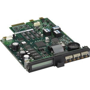 Black Box Analog Sync/Async Dial-Up or Leased-Line V.36 Modem Rackmount Card - New - 33.6