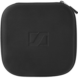 SENNHEISER Carrying Case Headset, Accessories, Cable, Flash Drive - Black - Embossed Sennheiser Logo