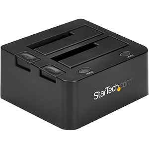 StarTech.com USB 3.0 Dual Hard Drive Docking Station with UASP for 2.5/3.5in SSD / HDD | SATA 6 Gbps