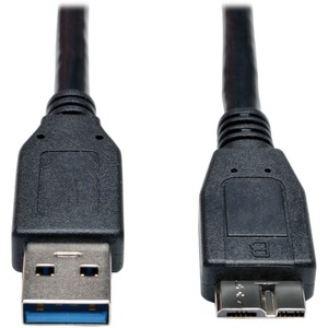Tripp Lite 3ft USB 3.0 SuperSpeed Device Cable A to Micro-B M/M Black