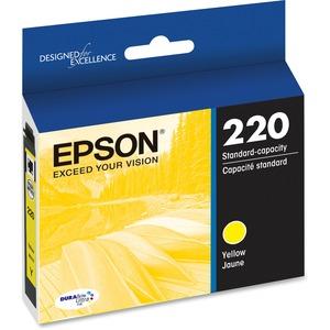 Epson DURABrite Ultra Ink T220 Ink Cartridge | Yellow