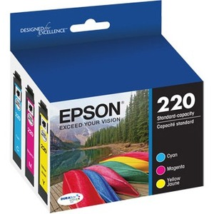 EPSON - SUPPLIES T220 DURABRITE ULTRA COLOR COMBO PACK STANDARD CAPACITY