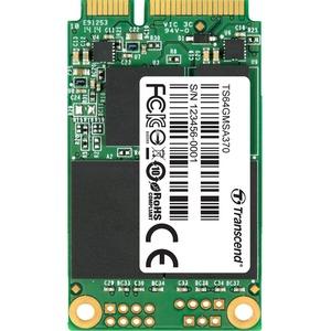 Transcend MSA370 64 GB Solid State Drive - Internal - mini-SATA (SATA/600) - 3 Year Warran