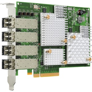 HPE 84E Quad-Port Host Bus Adapter - PCI Express 2.0 - 8 Gbit/s - 4 x Total Fibre Channel