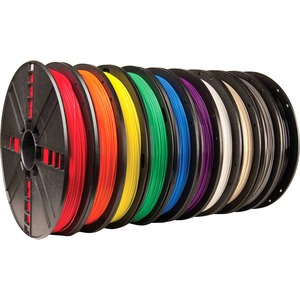 10PK TRUE COLOR PLA FILAMENTLARGE SPOOLS