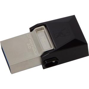 KINGSTON - DIGITAL IMAGING 16GB DT MICRODUO USB 3.0/MICRO USB OTG