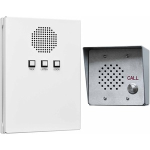 Quam D2D1 All-in-One Indoor / Outdoor Intercom System - Cable - Surface Mount