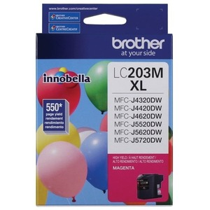 Brother LC203MS INNOBELLA™ High Yield 550 Pages Magenta Ink Cartridge for MFC-J4620DW / J5620DW