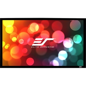 Elite Screens Sable Frame Series - 120-inch Diagonal 16:9-Sound Transparent Perforated Wea