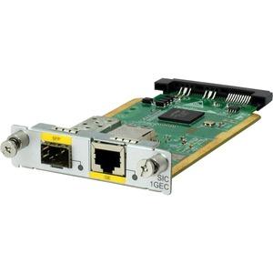 HPE MSR 1-Port GbE Combo SIC Module - For Data Networking-Optical Network - 1 x RJ-45 10/1
