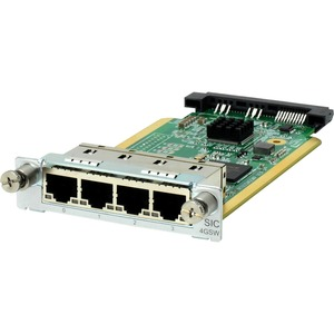 HPE MSR 4-Port Gig-T Switch SIC Module - For Switching Network - 4 x RJ-45 10/100/1000Base