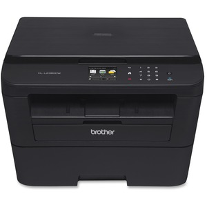 Brother HL-L2380DW Laser Multifunction Printer - Monochrome - Plain Paper Print - Desktop HLL2380DW