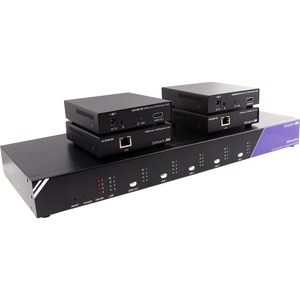 4X4 HDMI RS-232 OVER LAN OR CAT5E/6 MATRIX SWITCH. INCLUDES: HDR4X4PRO PS5VD4A