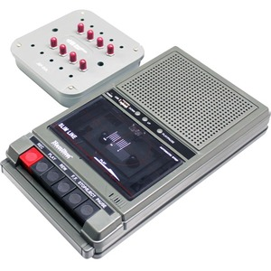 Hamilton Buhl Classroom Cassette Player and Recorder-8 Position Jackbox - Compact Cassette