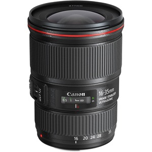 Canon - 16 mm to 35 mm - f/4 - Full Frame Sensor - Zoom Lens for Canon EF - 77 mm Attachme