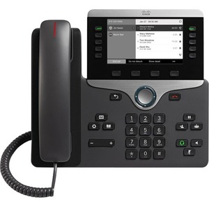 Cisco 8811 IP Phone | Cable | Wall Mountable | Black