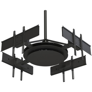 Peerless-AV DST975-4 Ceiling Mount for Flat Panel Display - Black - 37into 75inScreen Su