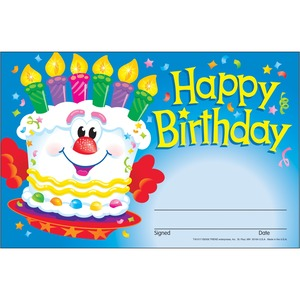 Trend Happy Birthday Recognition Awards -