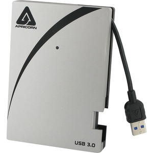 "Apricorn Aegis Portable A25-3USB-2000 2 TB 2.5"" External Hard Drive"