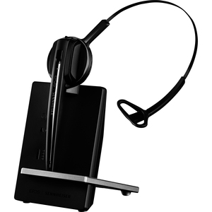 SENNHEISER D10 USB ML- Wireless DECT headset (monaural) with base station, for softphones