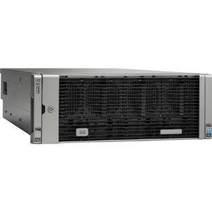Cisco Barebone System - 4U Rack-mountable - Intel C602J Chipset - 4 x Processor Support -