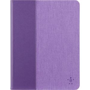 "Belkin Chambray Carrying Case (Folio) for 10"" iPad Air, iPad Air 2 | Purple"