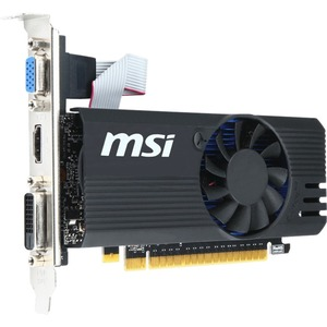MSI N730K-2GD5LP/OC GeForce GT 730 Graphic Card   1.01 GHz Core   2 GB GDDR5   PCI Express 2.0 x16   Low-profile   Single Slot Space Required