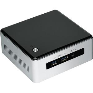 Intel NUC5I3MYHE Desktop Computer | Intel Core i3 i3-5010U 2.10 GHz | Silver, Black
