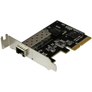 StarTech.com PCI Express 10 Gigabit Ethernet Fiber Network Card w/ Open SFP+ | PCIe x4 10Gb NIC SFP+ Adapter